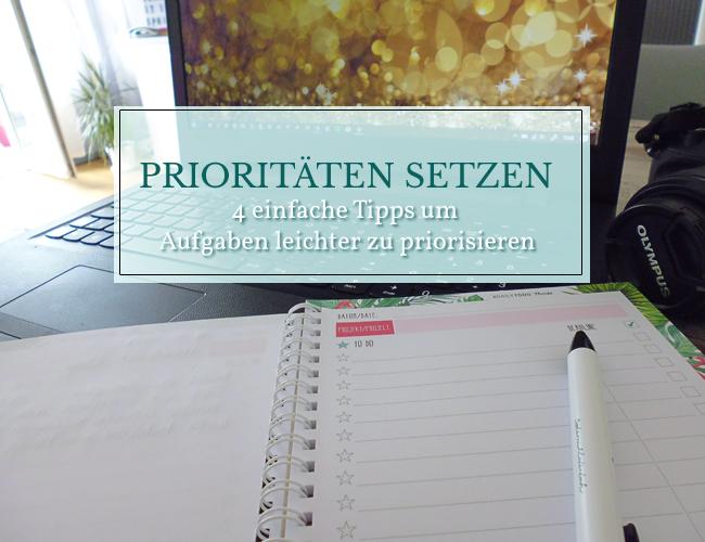 Mit 4 einfachen Tipps Aufgaben leichter priorisieren