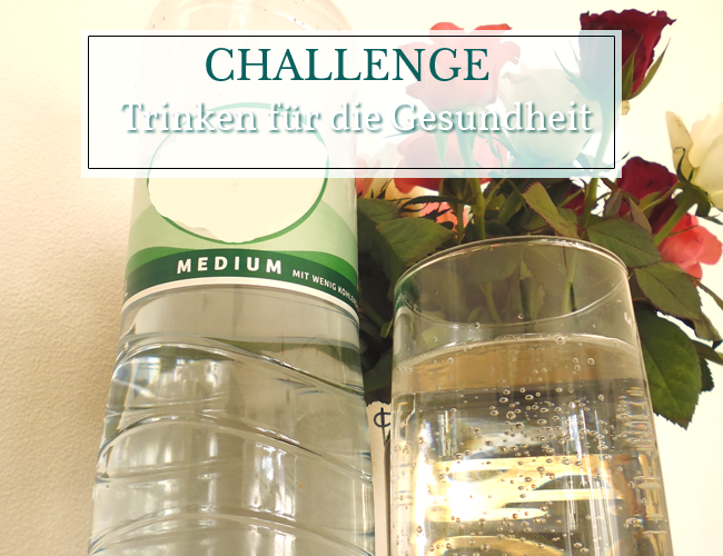 Challenge - Trinken für die Gesundheit