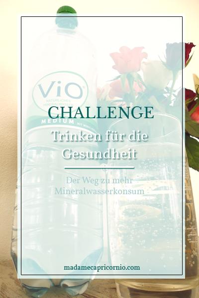 Challenge: Trinken für die Gesundheit - Teil 1