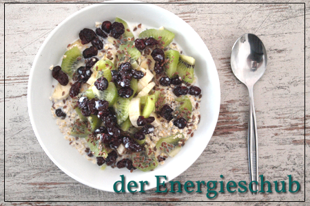 Das Frühstück als Energieschub