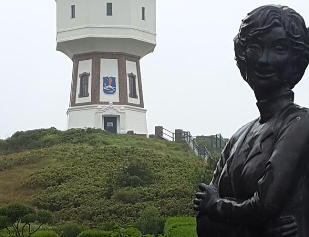 Langeoog - Lale Andersen Denkmal