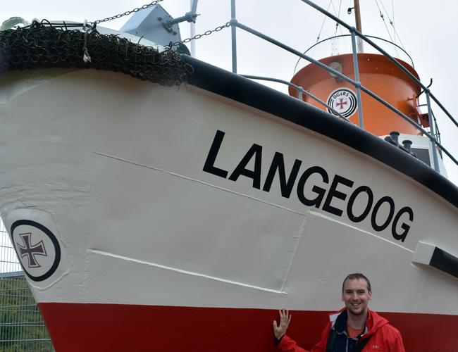 Langeoog - Museumsrettungsboot