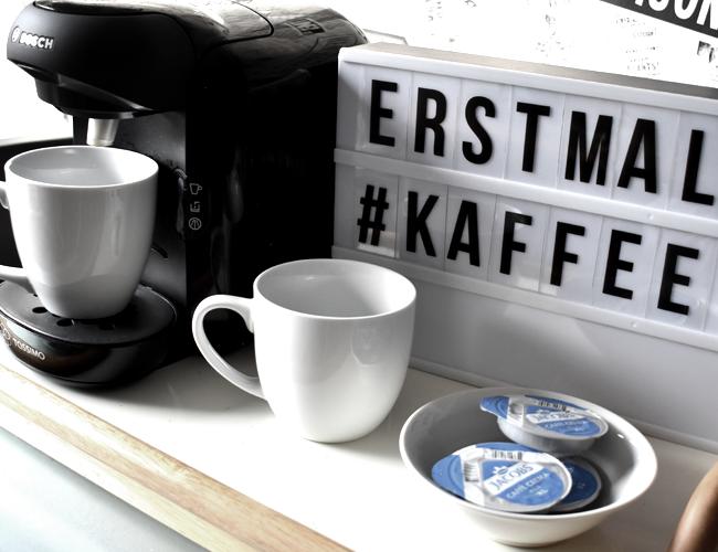Portable Coffee Station für die kleine Küche