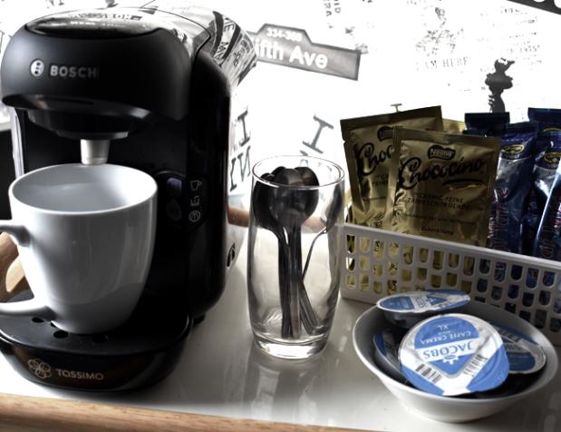 Portable Kaffeestation
