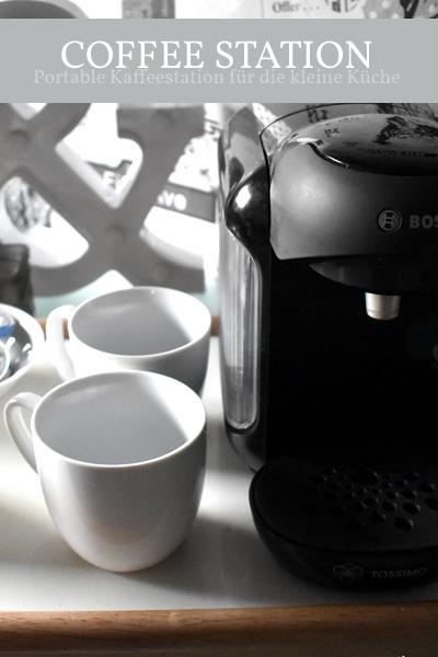 Kaffeestation trotz wenig Platz? Mach es möglich mit einer portablen Coffee Station
