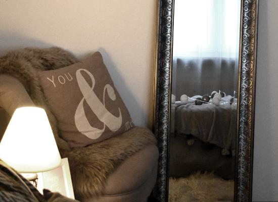 Spiegel um Lichtquellen zu intensivieren